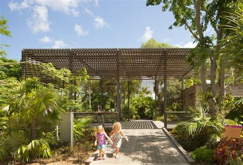 Botanical Garden Design Naples Botanical Garden Visitor Center Lake Flato Architects Archdaily