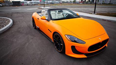 Orange Maserati by Orange Maserati Grancabrioorange Maserati Grancabrioorange