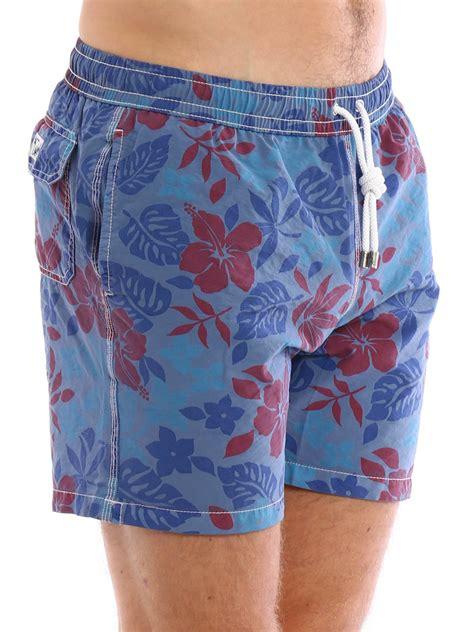Floral Print Swim Shorts floral print swim shorts by hartford swim shorts
