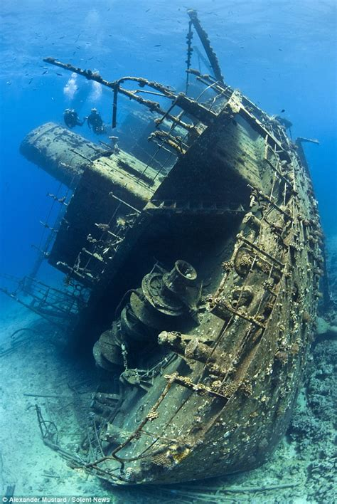 News Roundup Wrecked Cargo Ship And Behaving Badly by Amazing Shipwrecks Found On Sea Bed By Intrepid