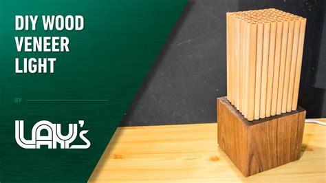 diy wood veener light youtube