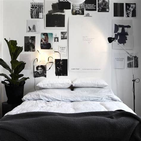desain dinding kamar hitam putih desain kamar tidur dengan skema warna hitam putih rumah diy