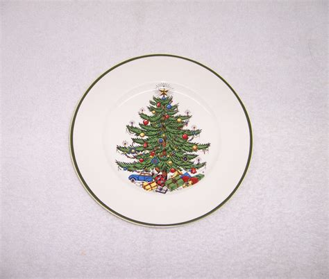 triple a resale 4 cuthbertson christmas tree salad plates