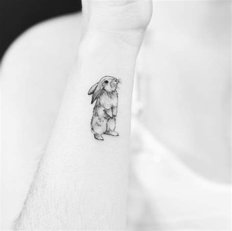 small bunny tattoo 10 adorable animal tattoos that will inspire you to get
