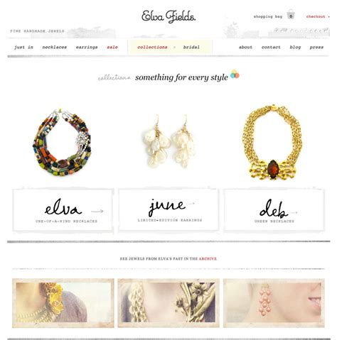 Handcrafted Websites - handmade jewelry websites gallery