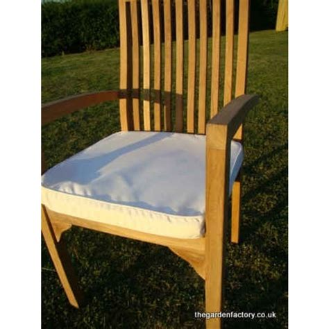 outdoor armchair cushions garden lg armchair cushion natural the garden factory