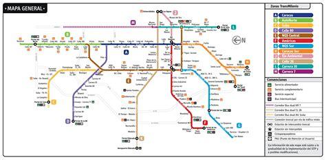 alimentadores sitp mapa de transmilenio mirutafacil