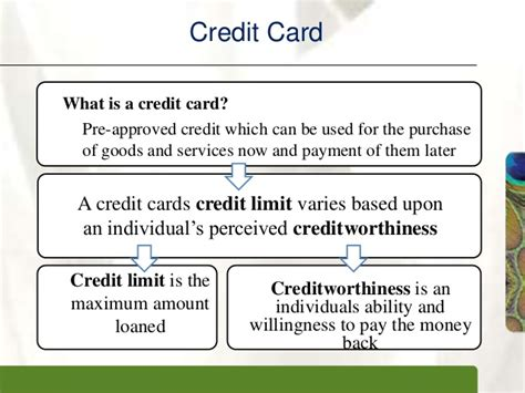What Is Credit Ceiling by Credit Card