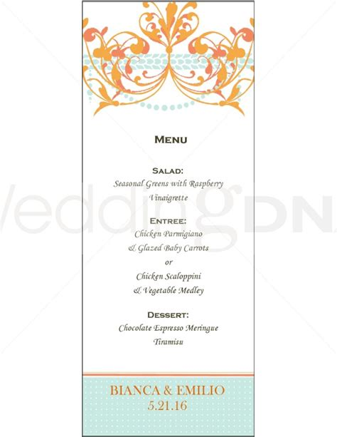 fancy dinner menu template fancy menu template