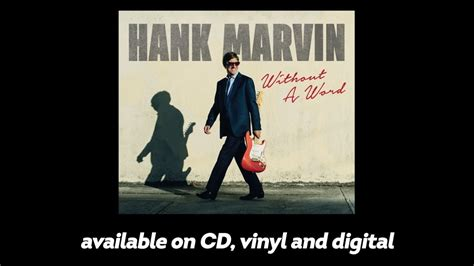 hank marvin without a word new album 2017