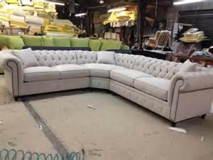 Chesterfield Sofa Sectional Kenzie Style Aka Nellie Chesterfield Sofa Or Sectional Traditional Sectional Sofas