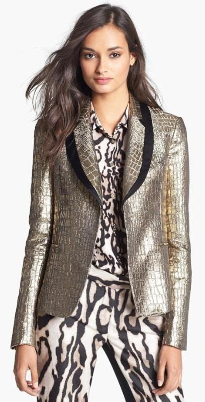 7 Gorgeous Blazers by Metallic Blazer Nordstrom Half Yearly Sale