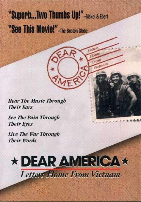 le dear america letters home from