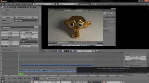 edit video with blender tutorial preview resolution video editing blender tutorial