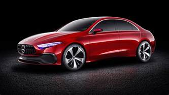 Mercedes I 2018 Mercedes A Class Sedan Concept Revealed Photos