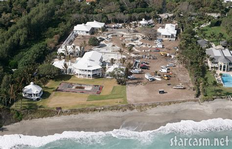 celine dion jupiter home photos celine dion s home and backyard water park on