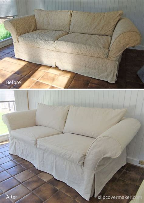 1000 Images About Sharon S Canvas Sofa Slipcover On Canvas Sofa Slipcovers