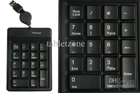 Murah Keyboard Mini Numeric slim mini usb silicone numeric number keypad numpad keyboard for laptop pc with 18 key