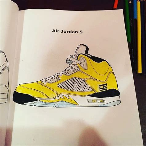 sneaker coloring books feelgood threads