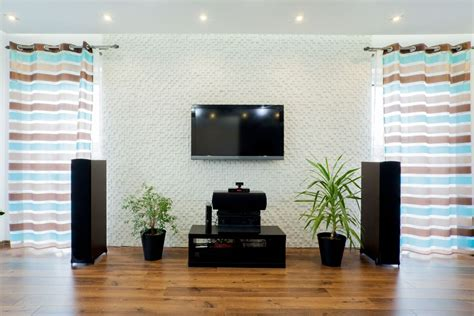 home living room how do you mount home theater speakers in your living room