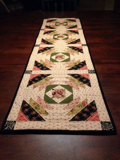 Pineapple Patchwork Pattern - pineapple table runner 10 1 2 inch blocks using the