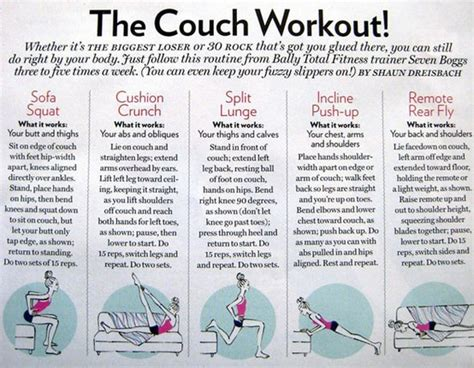 loser home workout plan home design and style