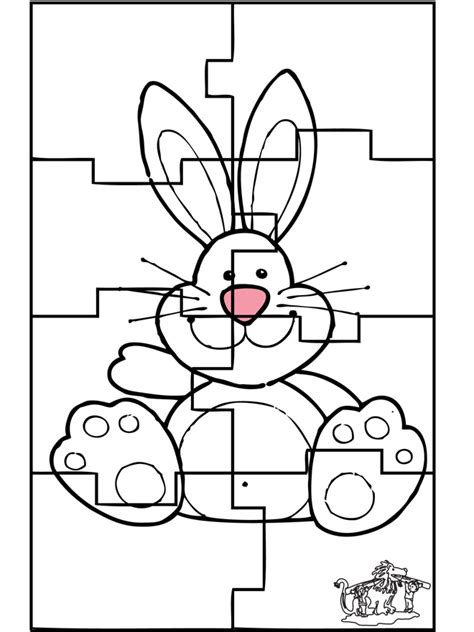 Puzzle Animals Coloring Pages Free Coloring Pages And Puzzles