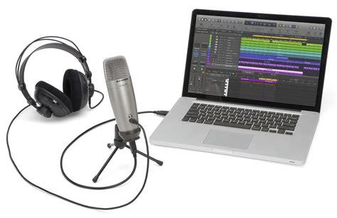 Samson Q2 Usb Microphone samson c01u pro usb microphone review the gadgeteer