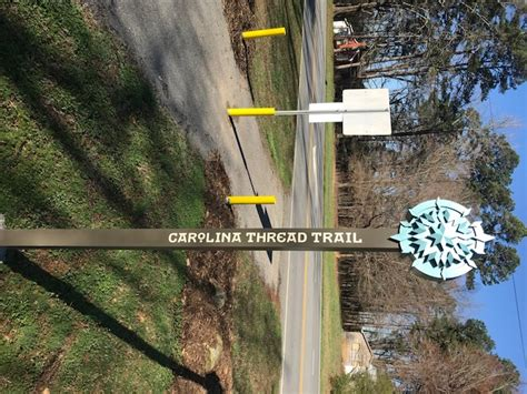 carolina thread trail map salisbury greenway
