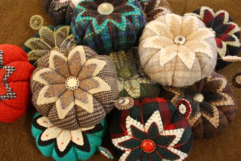 Handmade Pincushions - wool pincushions on etsy ashton publications