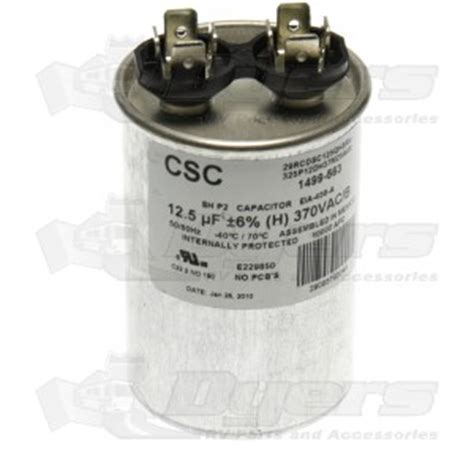 carrier rv ac capacitor coleman a c run capacitor 12 5 mfd air conditioner parts air conditioners rv appliances