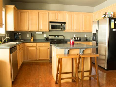 blonde cabinets kitchen modern kitchen cabinet doors pictures options tips ideas hgtv