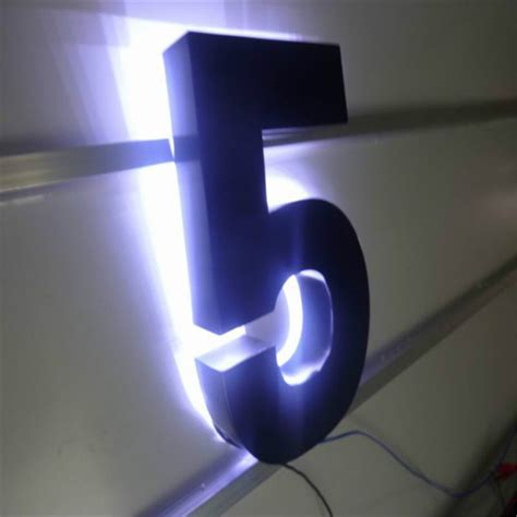 led house numbers most decorative lighted house numbers invisibleinkradio