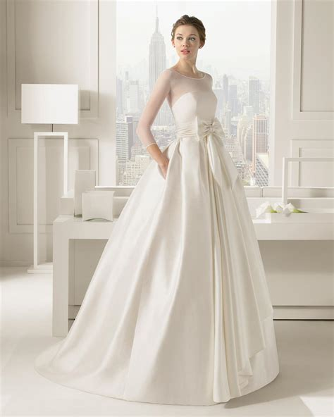 30 exquisite elegant long sleeved wedding dresses chic