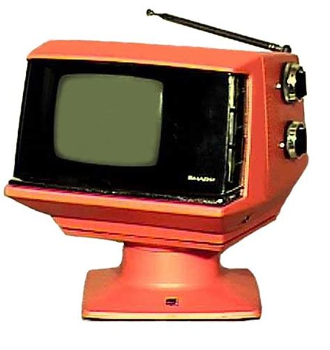 Tv Sharp Bekas 14 retro wednesday space age tvs superradnow