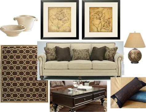 Beige And Brown Living Room by Beige Sofa With Brown Accent Can Be Warm And Inviting