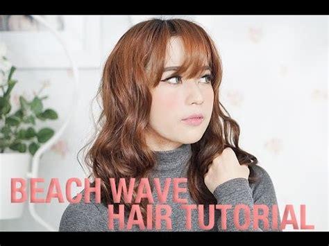 cara menggunakan catok rambut instyler cara keriting rambut ala korea menggunakan glampalm youtube