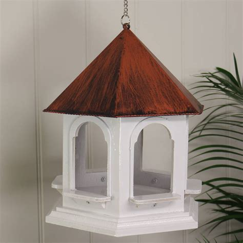 Handmade Bird Tables - handmade wooden rozel bird table feeder by garden