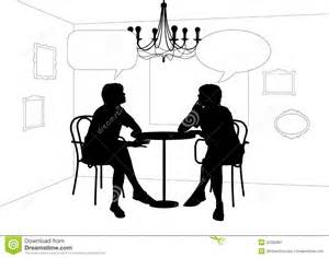 Bubbles Chandelier Two Women Speaking At The Table In Cafe Stock Image