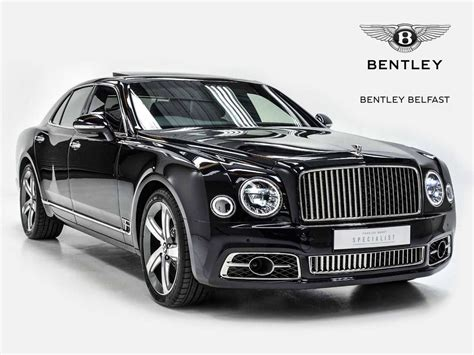 bentley mulsanne speed black bentley mulsanne speed used car for sale in belfast