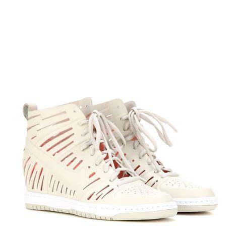 scarpe con zeppa interna marant sneakers con zeppa autunno inverno 2015 2016 foto