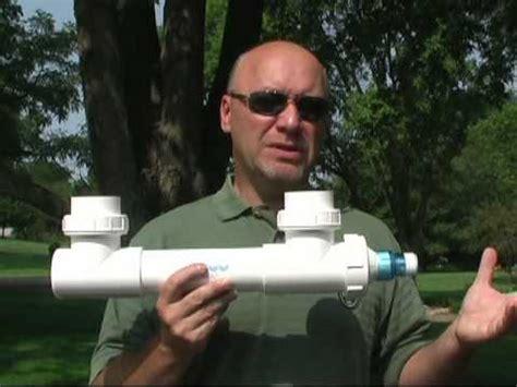 uv light for pond algae uv light for treating green water algae in ponds