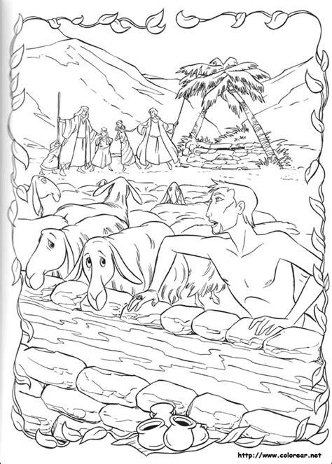 Dibujos para colorear de El príncipe de Egipto