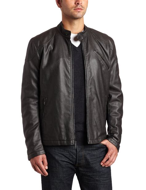 Arrow Men S Leather Moto Jacket