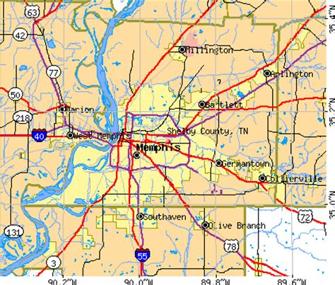 Shelby County Tn Search Shelby County Tn Zip Code Map