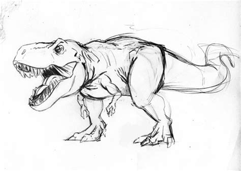 Drawing T Rex by The Gallery For Gt Dinosaurs T Rex Drawing