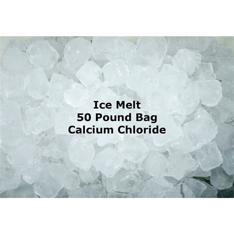 lb calcium chloride ice melting pellets