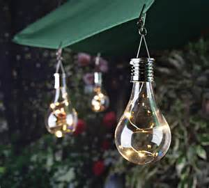Led Patio Umbrella 6 Quot Oudoor Decorative Solar Light Bulb