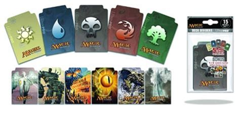 trading card dividers template paizo magic the gathering dividers mana symbol