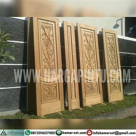 Kayu Mahoni Dan Jati pintu ukir jati jepara instagram pembuatan kusen pintu